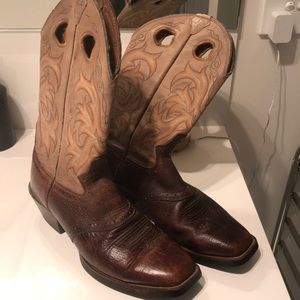 Size 8 men's ball riding boots